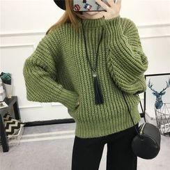 YAMI - Plain Chunky Sweater