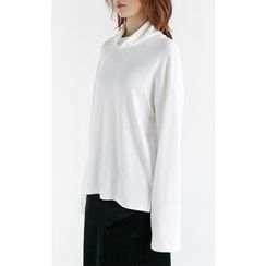 Someday, if - Turtle-Neck Long-Sleeve Top