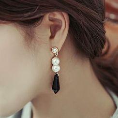 缀好 - 仿珍珠耳环