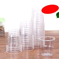 Homy Bazaar - Pack of 28: Disposable Plastic Cup
