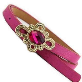 Cuteberry - Jeweled Slim Belt
