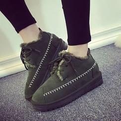 Laceuplux - Platform Ankle Boots