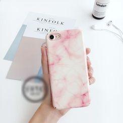 Wince - Marble Print Phone Case - iPhone 7 / 7 Plus / 6 / 6 Plus