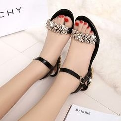 Sunsteps - Embellished Sandals