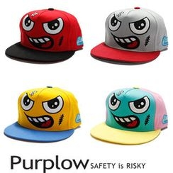 Purplow - Face' Cap