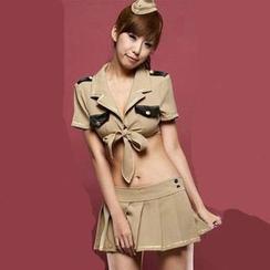Lemon Bar - Sexy Policewoman Cosplay Costume