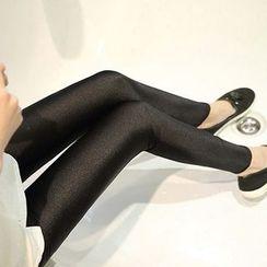 NEUF - 孕婦加絨抓毛內搭褲