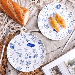 Hashi - Ceramic Print Plate