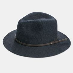 M.O.H - Belted Wool Fedora