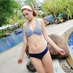 Tamtam Beach - Printed Halter Bikini