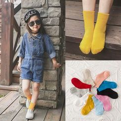 Cloud Femme - 儿童纯色袜子