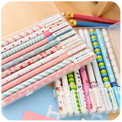Fancy Mansion - Set of 10: Multicolored Gel Pens