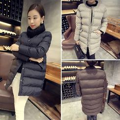 Karnel - Snap Button Padded Coat