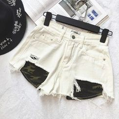 Octavia - Denim Shorts