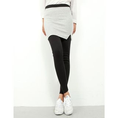 GUMZZI - Inset Skirt Leggings