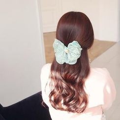 soo n soo - Lace Ribbon Hair Pin
