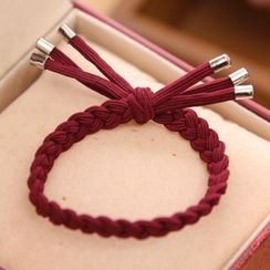 Gold Beam - Woven Hair Tie