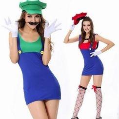 Cosgirl - 瑪利奧舞會服裝