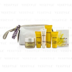 Decleor 思妍麗 - Gift Set: Night Balm 30ml + Rich Cream 15ml + Night Cream 15ml + Lip Balm 10ml + Massage Balm 25ml + Aromessenc Iris 1ml + Bag