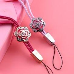 MILESI - 花形手機掛繩