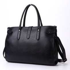 TESU - Faux Leather Tote Bag