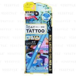K-Palette - 1 Day Tattoo Alice In Wonderland Real Lasting Eyeliner (Super Black DSB01) (Limited Edition)