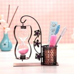 Oolulu - Pen Holder with Hourglass