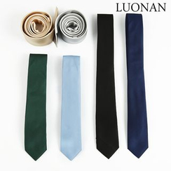 Luonan - 纯色窄身领带
