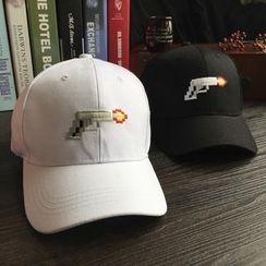 EVEN - Gun Embroidered Baseball Cap