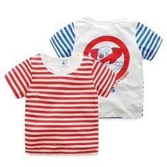 WellKids - Kids Short-Sleeve Striped T-Shirt