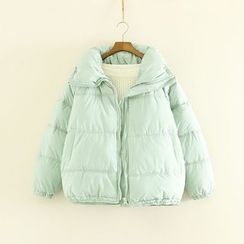 Mushi - Plain Padded Coat