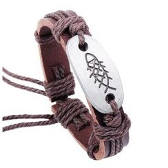 KINNO - Fish Leather Bracelet