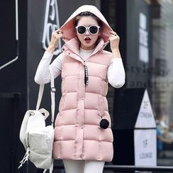 Sienne - Hooded Padded Vest