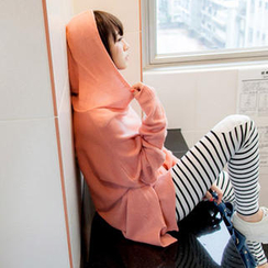 Tokyo Fashion - Hooded Loose-Fit Knit Top