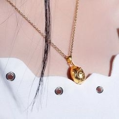 Tenri - Chicken 18K Gold Pendant Necklace