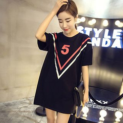 Rocho - Print T-Shirt Dress