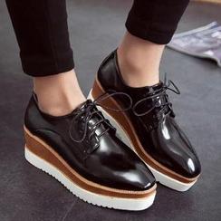 Hipsole - Platform Oxford Shoes