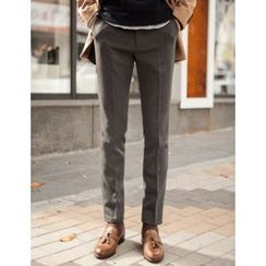 STYLEMAN - Pocket-Side Tapered Dress Pants