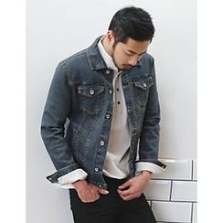 STYLEMAN - Washed Denim Jacket