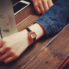 HM - Square Skinny Strap Watch