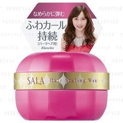 Kanebo - Sala Hair Styling Wax (Deep Pink) (For Long and Curly Hair)