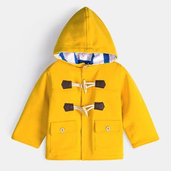 Yobaby - Kids Hooded Toggle Jacket