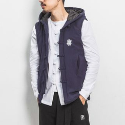 JORZ - Embroidered Hooded Vest