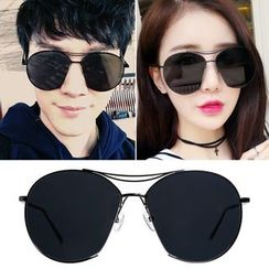 MOL Girl - Colored Lens Aviator Sunglasses
