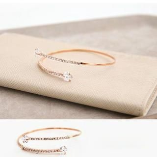 Cuteberry - Rhinestone Bangle