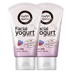 HAPPY BATH - Set of 2: Facial Yogurt Form