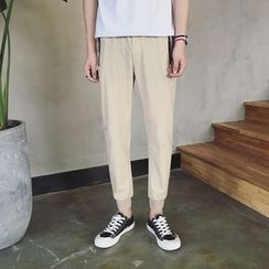 Mr. Wu - Plain Jogger Pants
