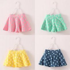 Seashells Kids - Kids Dotted Shorts