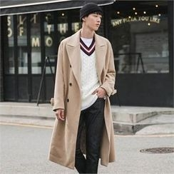 STYLEMAN - Double-Breasted Long Coat