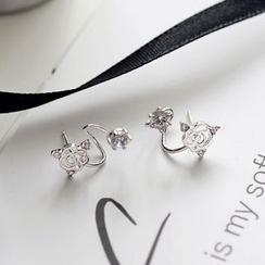 MOMENT OF LOVE - Rhinestone Earrings